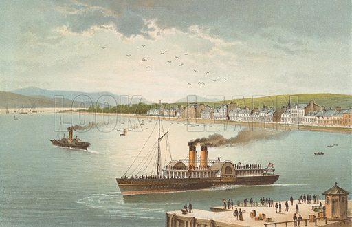 Helensburgh. Illustration for Souvenir of Scotland (Nelson, 1889).