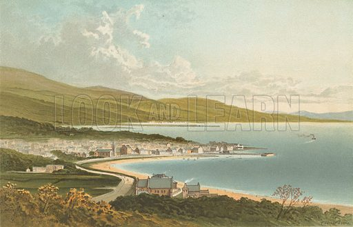 Largs. Illustration for Souvenir of Scotland (Nelson, 1889).