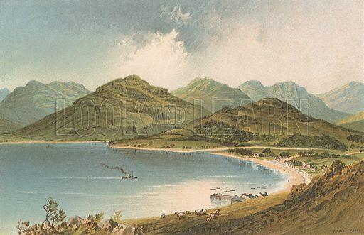 Loch Goil Head. Illustration for Souvenir of Scotland (Nelson, 1889).