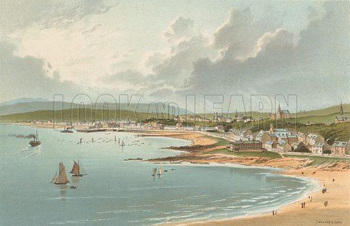 Millport. Illustration for Souvenir of Scotland (Nelson, 1889).