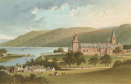 The Monastery, Fort Augustus. Illustration for Souvenir of Scotland (Nelson, 1889).