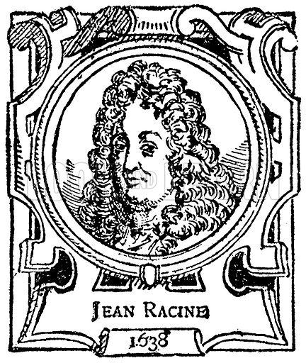 Jean Racine. Illustration for The Portrait Birthday-Book (Seely, c 1870).