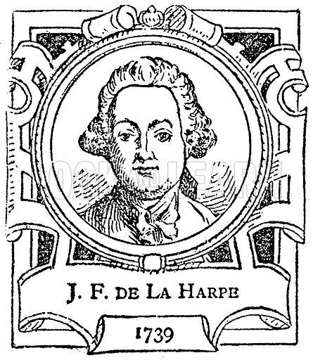 JF de la Harpe. Illustration for The Portrait Birthday-Book (Seely, c 1870).