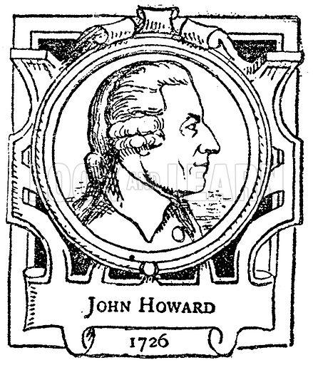 John Howard. Illustration for The Portrait Birthday-Book (Seely, c 1870).