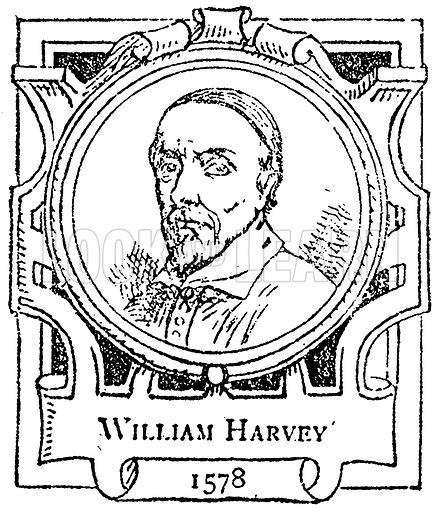 William Harvey. Illustration for The Portrait Birthday-Book (Seely, c 1870).