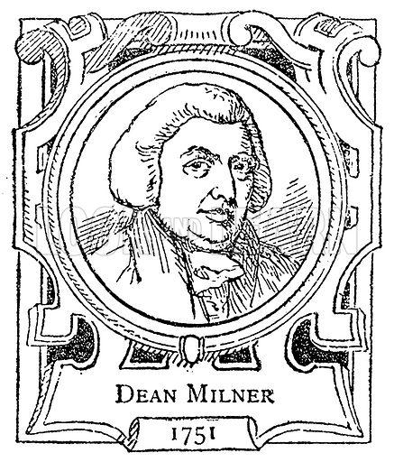 Dean Milner. Illustration for The Portrait Birthday-Book (Seely, c 1870).