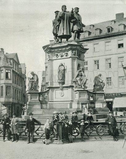 The Gutenberg Monument, Frankfort