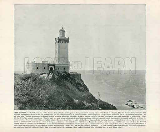 Cape Spartel, Tangier, Africa. From a Portfolio of Photographs (Werner, c 1890).