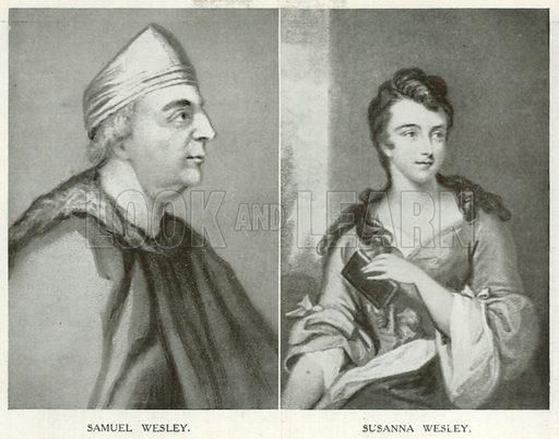 Samuel Wesley. Susanna Wesley. An Outline of Christianity (Waverley, c 1900).
