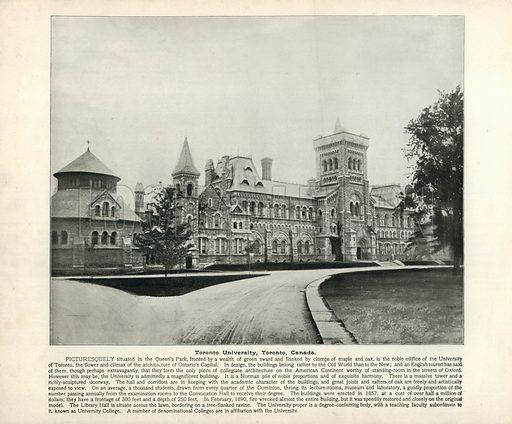 University of Toronto, picture, image, illustration