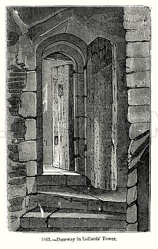 Doorway in Lollards
