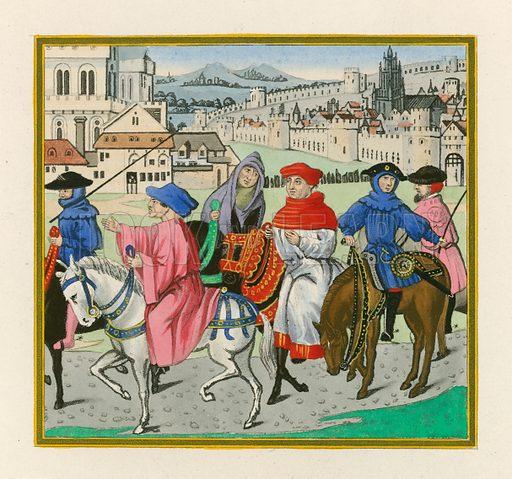 The Canterbury Pilgrimage, late 15th Century