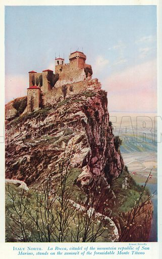 San Marino, picture, image, illustration
