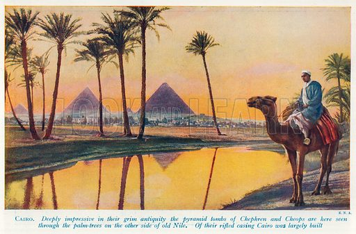 Cairo, picture, image, illustration