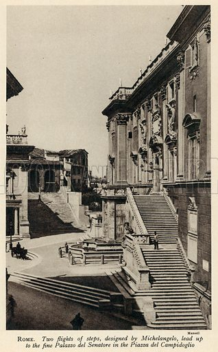 Rome. Illustration for Countries of the World by J A Hammerton (Fleetway, c 1925).