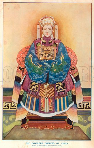 Dowager Empress, picture, image, illustration