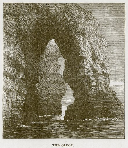 The Gloop. Illustration for Picturesque Scotland by Francis Watt and Andrew Carter (Frederick Warne, c 1880).