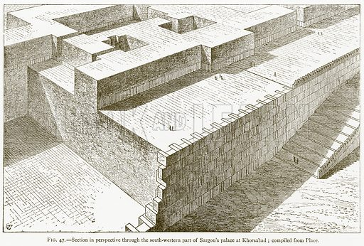 Assyrian Concept Of Perspective Art