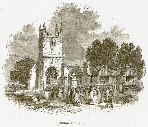 Clifford Church. Illustration for William Shakespeare A Biography by Charles Knight (Virtue, c 1880).