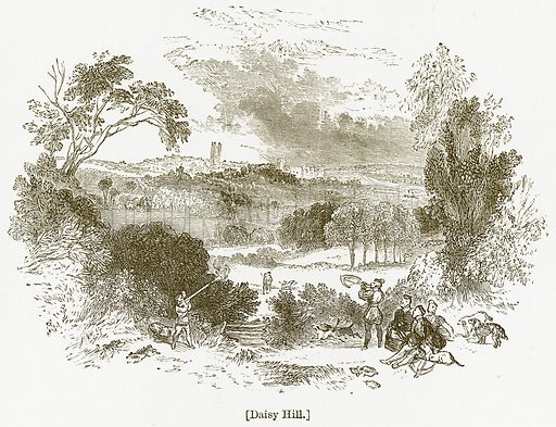 Daisy Hill. Illustration for William Shakespeare A Biography by Charles Knight (Virtue, c 1880).
