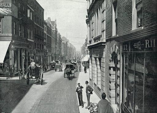 Bond Street, looking towards Oxford Street