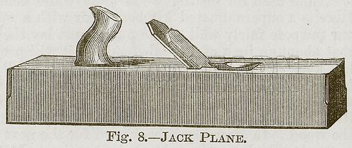 Jack Plane. Illustration for Cassell's Book of Sports and Pastimes (Cassell, c 1890).