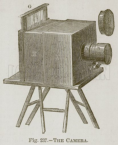 The Camera. Illustration for Cassell's Book of Sports and Pastimes (Cassell, c 1890).
