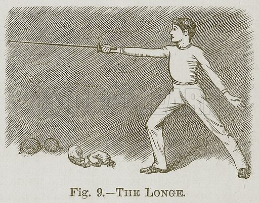 The Longe. Illustration for Cassell's Book of Sports and Pastimes (Cassell, c 1890).