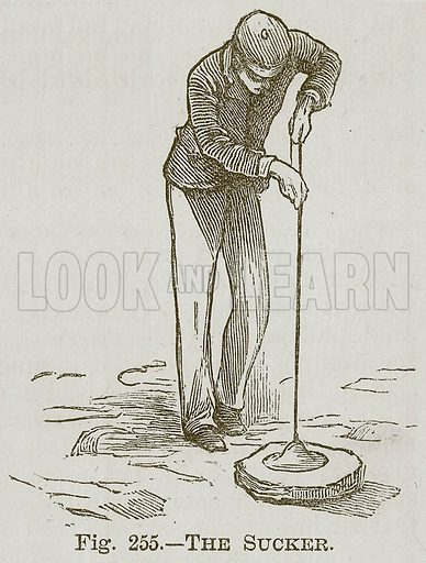 The Sucker. Illustration for Cassell's Book of Sports and Pastimes (Cassell, c 1890).