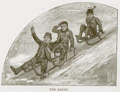 The Kalke. Illustration for Children of All Nations (Cassell, c 1880).