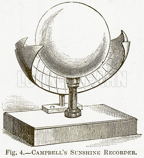 Campbell's Sunshine Recorder. Illustration for The New Popular Educator (Cassell, 1891).