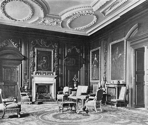 The East End of the Drawing-Room. Photograph in In English Homes Vol 1 (Country Life, 1904).
