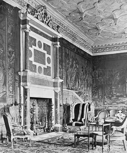 The State Drawing-Room. Photograph in In English Homes Vol 1 (Country Life, 1904).