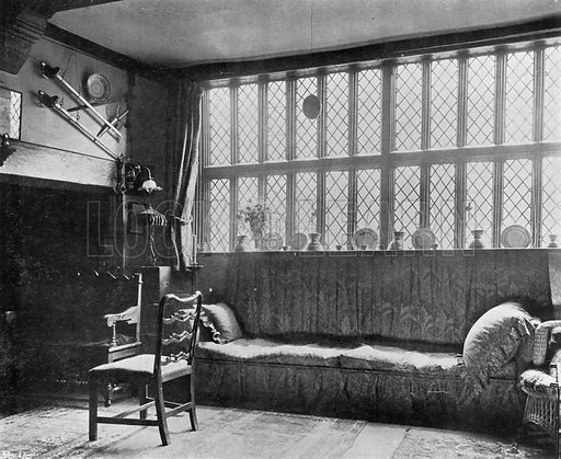 The Ingle-Nook. Photograph in In English Homes Vol 1 (Country Life, 1904).