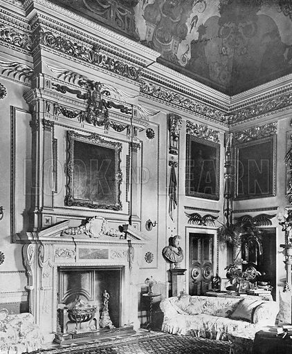 The Single Cube Room. Photograph in In English Homes Vol 1 (Country Life, 1904).