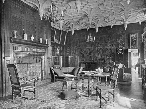 The Great Parlour. Photograph in In English Homes Vol 1 (Country Life, 1904).