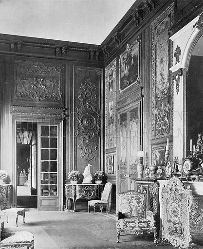 The French Gallery. Photograph in In English Homes Vol 1 (Country Life, 1904).