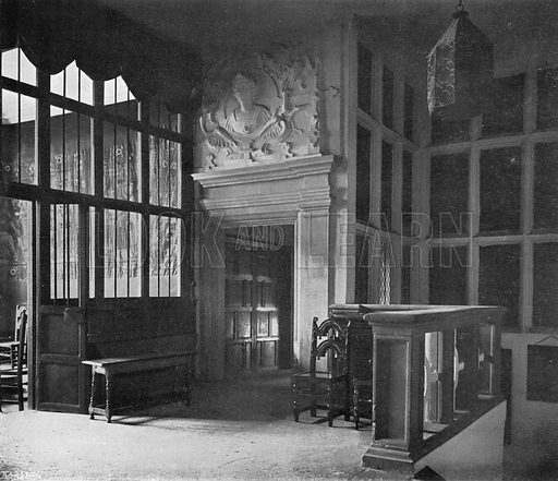 The Chapel. Photograph in In English Homes Vol 1 (Country Life, 1904).