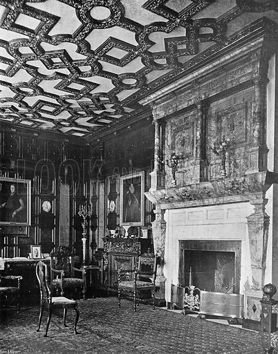 The Summer Drawing-Room. Photograph in In English Homes Vol 1 (Country Life, 1904).