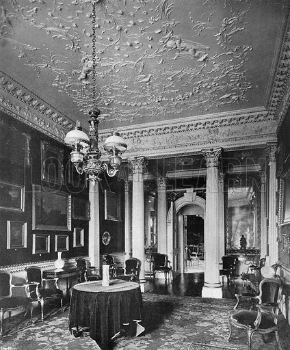The Velvet Room. Photograph in In English Homes Vol 1 (Country Life, 1904).