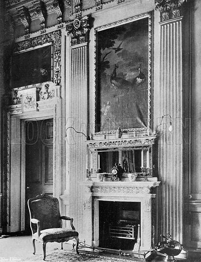 The East Tapestry Room. Photograph in In English Homes Vol 1 (Country Life, 1904).