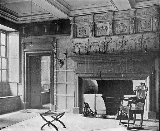 The Old Hall. Photograph in In English Homes Vol 1 (Country Life, 1904).