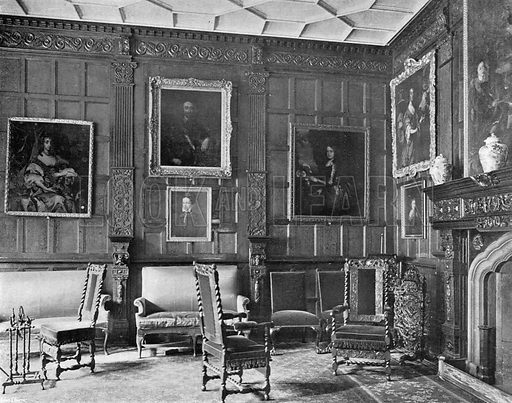 The Garden Parlour. Photograph in In English Homes Vol 1 (Country Life, 1904).