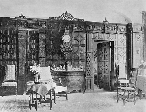 The North End of the Drawing-Room. Photograph in In English Homes Vol 1 (Country Life, 1904).