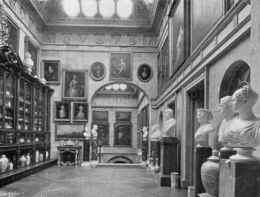 The Lobby. Photograph in In English Homes Vol 1 (Country Life, 1904).