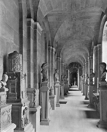 The North Corridor. Photograph in In English Homes Vol 1 (Country Life, 1904).