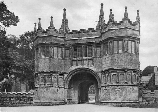 The Gate-House. Photograph in In English Homes Vol 1 (Country Life, 1904).