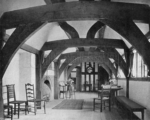 The Gallery. Photograph in In English Homes Vol 1 (Country Life, 1904).