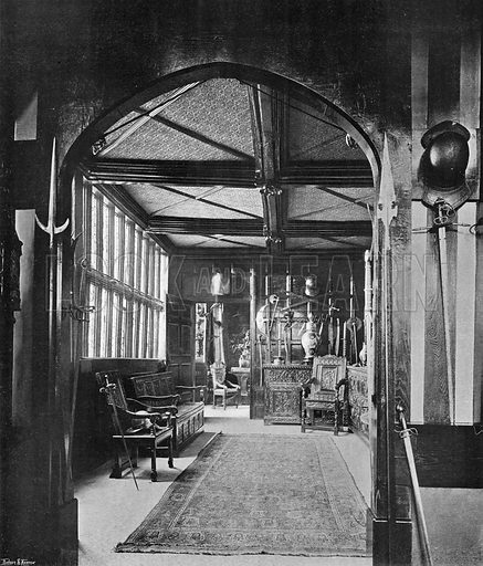 The Inner Hall. Photograph in In English Homes Vol 1 (Country Life, 1904).