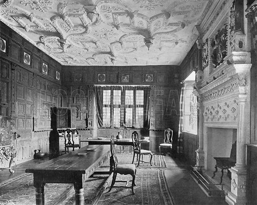 The Drawing-Room. Photograph in In English Homes Vol 1 (Country Life, 1904).